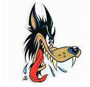 The Big Bad Wolf Retrieved From Http//wwwstickergiantcom/tattoo Art
