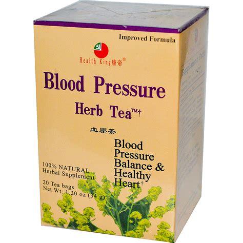 Detox Tea And High Blood Pressure by Health King Blood Pressure Herb Tea 20 Tea Bags 1 20 Oz