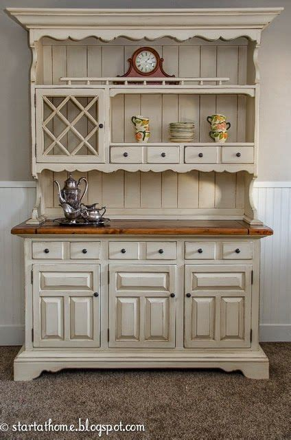 25  best ideas about White Hutch on Pinterest   Painted