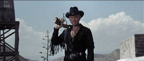 film western yul brynner spaghetti cinema yul brynner crashes car during