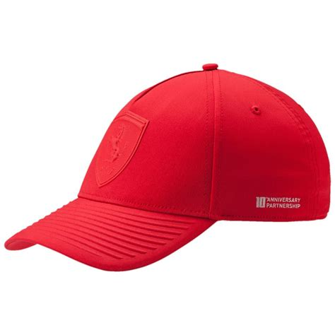 ferrari hat puma ferrari lifestyle adjustable hat ebay