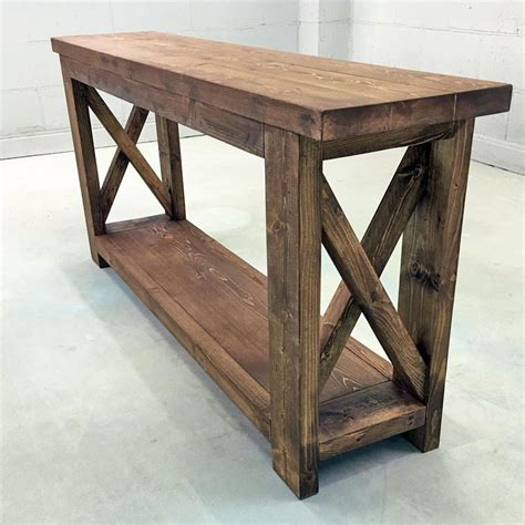 Narrow Dining Room Farmhouse Console Table Tv Stand Bookshelf Molly S