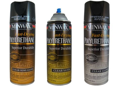 spray paint polyurethane top coats