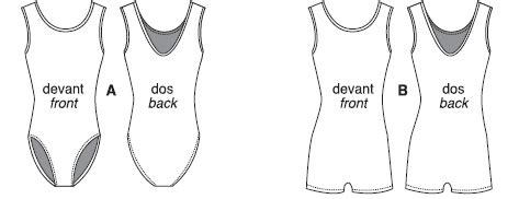 pattern free leotard jalie 3138 tank leotard and biketard