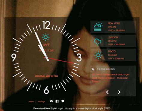 windows  app  alarm clock world time weather