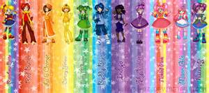 rainbow brite complete bookmark set by hotaru oz on deviantart