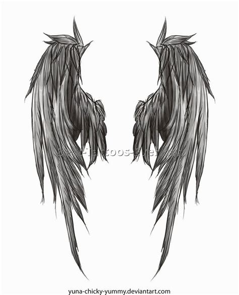 devil wings tattoo designs wings elaxsir