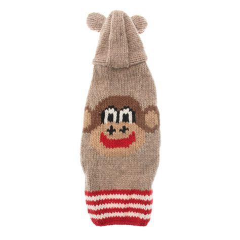 Handmade Wool - handmade wool monkey hoodie with ears with same day
