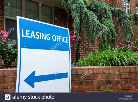 Dc Apartment Leasing Companies Leasing Office Sign Stock Photos Leasing Office Sign