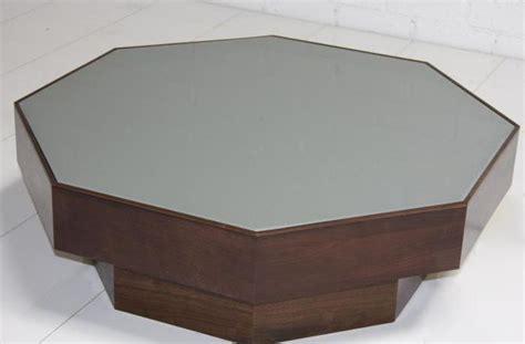 www roomservicestore walnut grey glass octagon