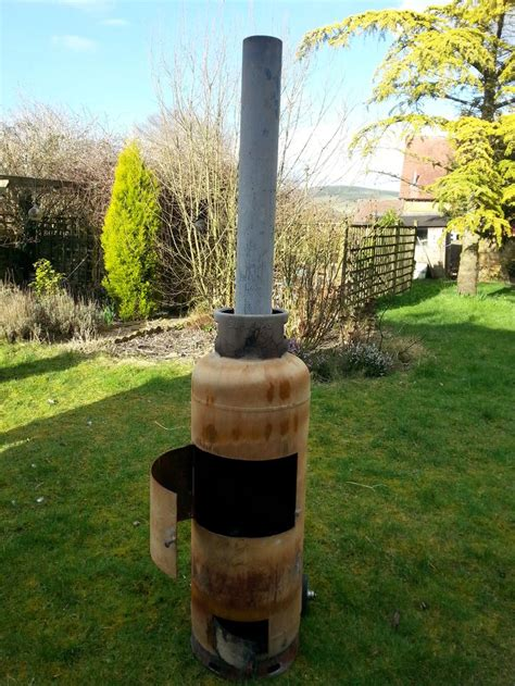 26 best images about gas bottle chiminea patio heater on - Gas Cylinder Chiminea