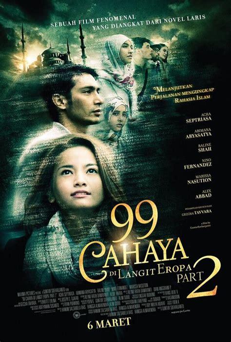 film frozen yang kedua 99 cahaya di langit eropa part 2 merilis poster resmi