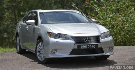 lexus es 250 2013 driven 2013 lexus es 250 and 300h sled image 219461
