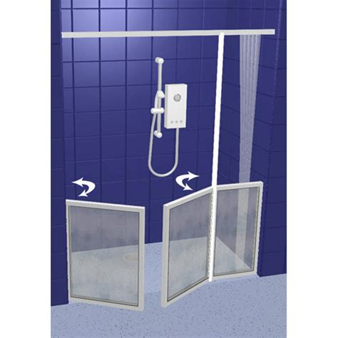Half Height Shower Doors Contour Half Height Shower Screens And Doors Made To Measure