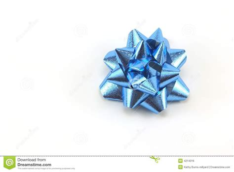 blue christmas bow royalty free stock image image 4214316
