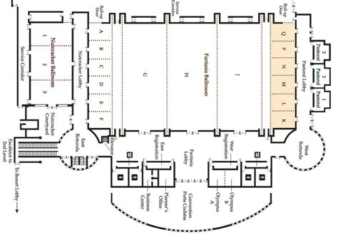 ballroom floor plan fantasia ballroom right side