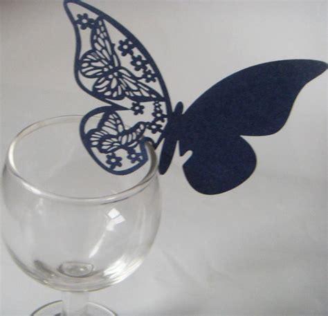 3d Butterfly Decoration 2 Navy Blue Khemiko Shops sale free shipping 60pcs navy blue butterfly paper vine