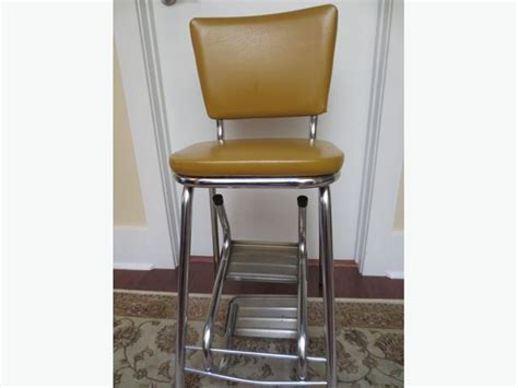 vintage fold out step stool high chair saanich