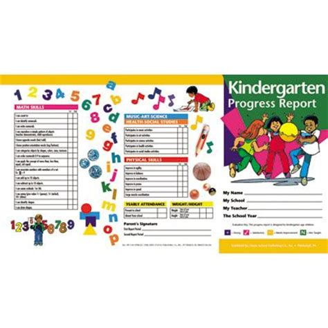 common report card template 17 best ideas about kindergarten report cards on