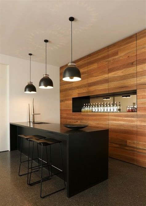industrial home bar designs    home