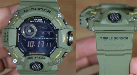 Jam Tangan Casio G Shock Gw 9400 Black White 3 Jarum casio g shock rangeman gw 9400 3 indowatch co id