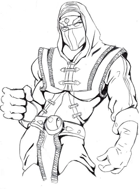 printable mortal kombat coloring pages coloring me