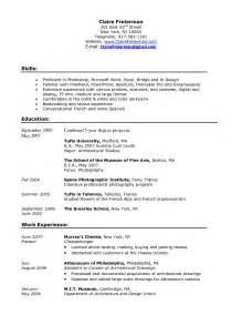 resume template examples relevant experience good within