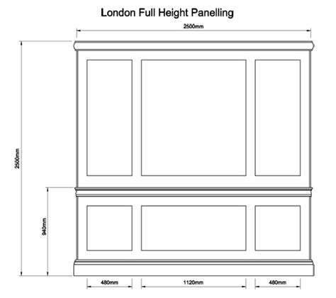 Front Doors For Home London Full Height Panelling The English Joinery Company