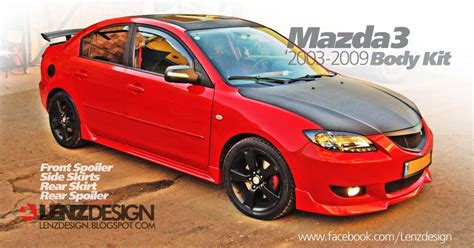 mazda 3 tuning lenzdesign performance kit israel