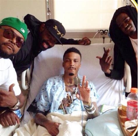 who can tell me how august alsina get his hair like that august alsina shares graphic photo after awaking from 3