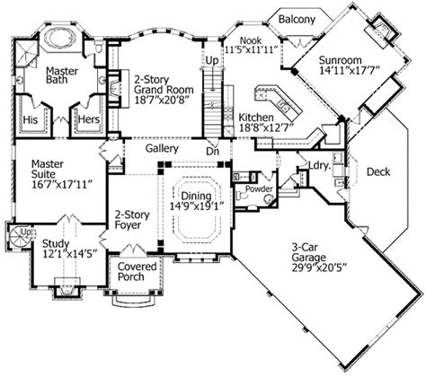 spiral staircase floor plan spiral stair to loft in study 15664ge architectural designs house plans