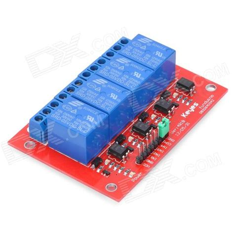 Arduino Relay Shield 4 Channel 4 channel relay shield module for arduino free shipping