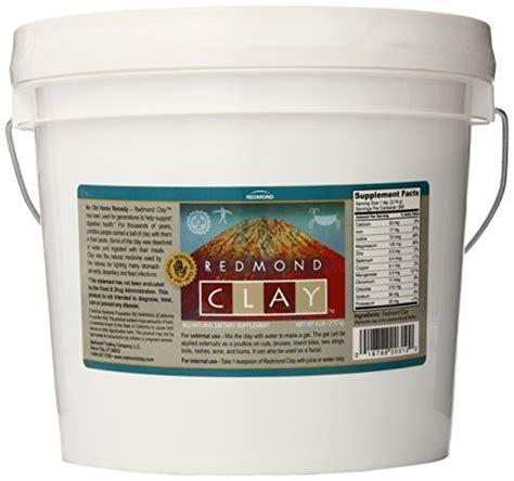 Redmond Clay Daily Detox Vegetarian Capsule by Redmond All Remedy Clay Bulk 6 Pound