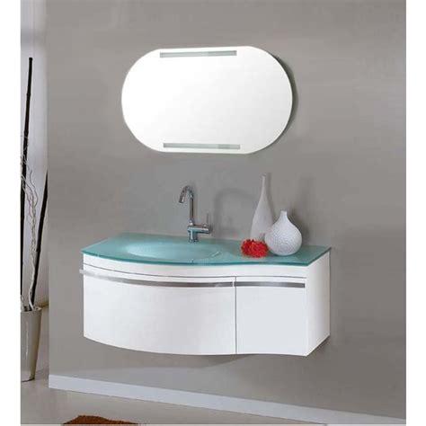 lavandino vetro bagno mobile moderno da bagno taunus con lavabo in cristallo pd