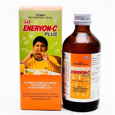 Obat Enervon C enervon c plus syrup 120ml gogobli