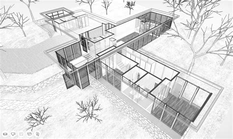 Draw Room Layout Online a virtual look inside the case study house 12 by whitney