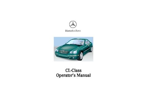 online auto repair manual 2002 mercedes benz cl class security system 2002 mercedes benz cl500 cl600 cl55 amg owners manual