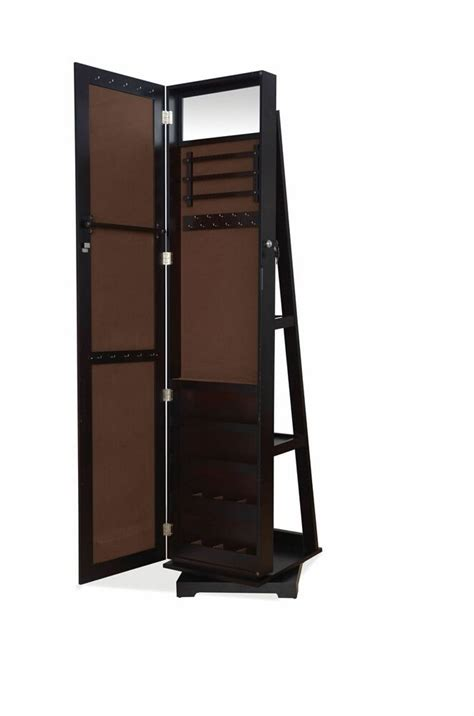 Free Standing Jewellery Armoire Uk by Free Standing Mirror And Jewelry Cabinet Ireland