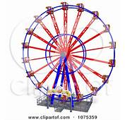 3d Wheel Of Fun Ferris Carnival Ride 5 Posters Art