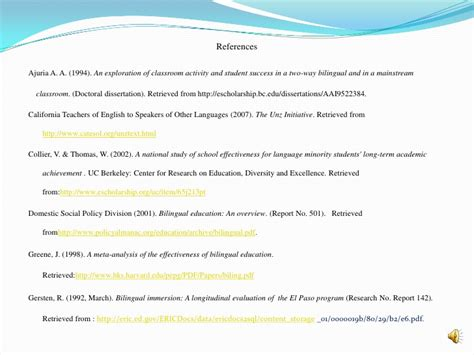 research paper on bilingual education bilingual education research paper 28 images bilingual