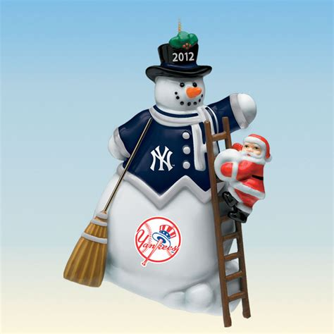 2012 annual new york yankees ornament the danbury mint