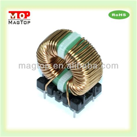 47uh inductor low profile vertical choke coil inductor 47uh common mode ferrite toroidal choke coil filter inductor buy