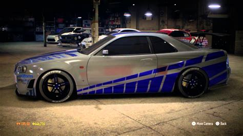 nissan skyline 2002 paul walker need for speed nissan skyline gt r v spec 1999 paul