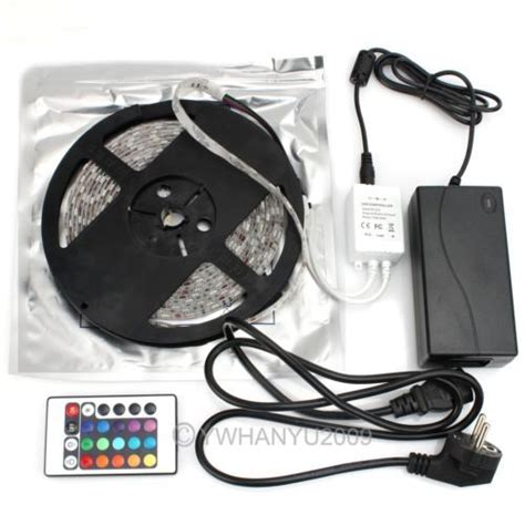 Flasher Kontroler Led 5050 hot5m waterproof 5050 led light 300 flash rgb ir