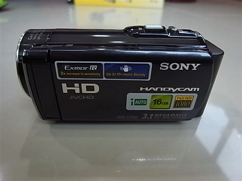 Handycam Sony Hdr Cx150e Merah ขาย กล องว ด โอ sony handycam hdr cx150eพร อมหน วยความจำใน