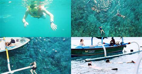 tempat snorkeling terbaik  bali disertai harga peta