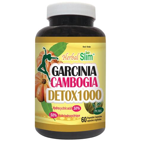 Garcinia Cambogia And Liver Detox by Herbal Slim Garcinia Cambogia Detox1000 Chamjon