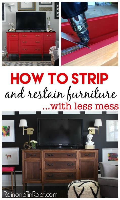 How To Restain Wood Furniture by How To Furniture And Restain It