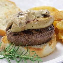 foie gras hamburger recipe gourmet food store