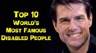 Famous disabled people youtube